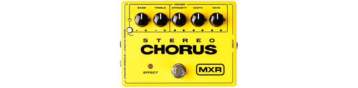 Chorus, Flanger and Phaser Pedal