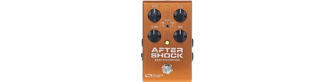 Bass Distortion, Overdrive, Fuzz and Booster Pedal